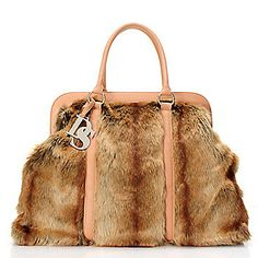 Donna Salyers Fabulous-Furs Faux Fur Weekender Tote Bag - This one comes in some fabulous furs ladies, I ordered the Leopard.