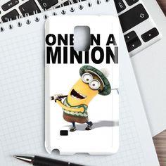 One In A Minion Despicable Me Minion Quote Samsung Galaxy Note 4 Case | casefantasy