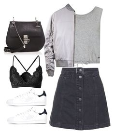 """""""Sin título #3577"""" by beel94 ❤ liked on Polyvore featuring Topshop, Sweaty Betty, Chloé and adidas"""