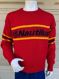 Very Rare Vintage Cliff Engle Buffalo Bisons Sweater XL 1984 HTF ... c47bfd3e5