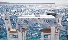 Restaurant in Ammoudi Santorini, Oia Santorini Island, Santorini Greece, Greece Islands, Greece Travel, Holiday Destinations, Trip Planning, Greek, Outdoor Decor, Rome