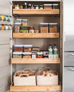Vorratsschrank lebensmittel  Vorratsschrank in der Küche einräumen | Haushalt | Pinterest ...