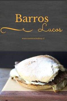 Who has not eaten Barros Luco in college, this recipe to do at home will bring the best memories. I Love Food, Good Food, Yummy Food, Chilean Recipes, Chilean Food, My Favorite Food, Favorite Recipes, Sandwiches For Lunch, Latin Food