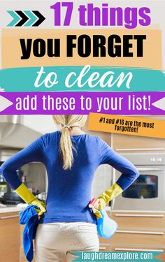 This is how to have a REALLY clean house 🏠! Add these items to your checklist ✅ ASAP!   cleaning hacks, spring cleaning, cleaning motivation   #springcleaning #home #cleaning #cleaningtips #cleaninghacks