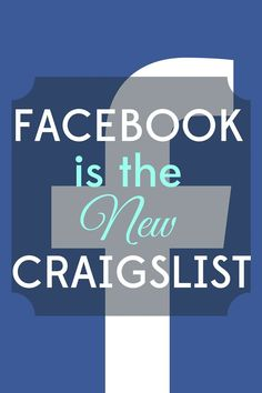 Facebook is the new Craigslist! These days it's simpler, faster, and more effective to sell things on Facebook. Here are our 5 tips for making money on Facebook.