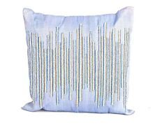 Debage Inc. Sea Side Beaded Center Natural/Organic Throw Pillow