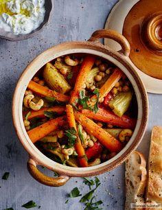 Gemüse-Tajine