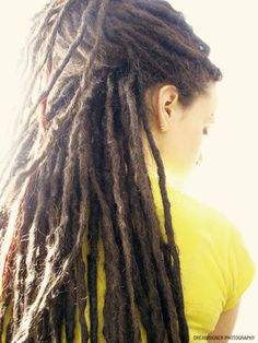 Dreadlocks. I would totally do this again to my hair, don't know what my husband would think. LoL.