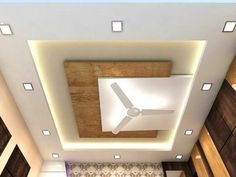 7 Victorious Tips AND Tricks: False Ceiling Design Led false ceiling kitchen interior design.False Ceiling Hall Modern false ceiling design with wood. Ceiling Design Modern, Pop False Ceiling Design, Ceiling Decor, Bedroom Ceiling, Home Ceiling, Living Room Designs, Room Design, Decorative Ceiling Panels, Modern Ceiling