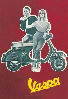 Vespa, 1950s advert