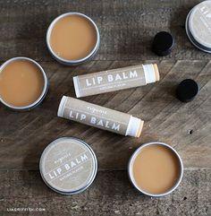 Make Your Own Organic Lip Balm