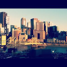 Pittsburgh, taken from PNC park.