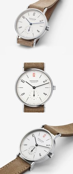 Nomos Tangente http://www.askmen.com/style/watch_snob/automatic-vs-winding-watches.html