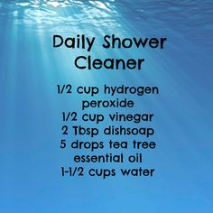 Frugal shower cleaner: spray after every shower.