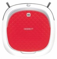 ECOVACS Robotics - DEEBOT D35 Bare Floor Cleaning Robot - Red - Larger Front