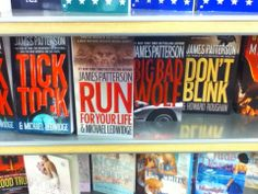 I think James Patterson might watch Doctor Who. Just maybe. Not totally sure....