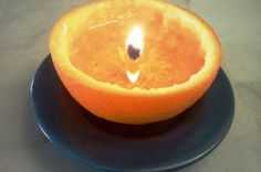 Comment faire une bougie avec une orange! | Trucs et Bricolages