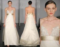 Gold sash wedding dresses - The Wedding SpecialistsThe Wedding Specialists