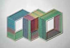 The Geometric Installations of Adrian Esparza - Design Milk