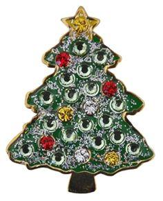 Christmas Tree Ball Marker by Navika.