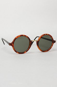 The Big Rounders Sunglasses in Black by Replay Vintage Sunglasses
