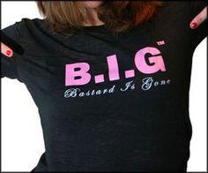 Need to celebrate your Divorce?  Throw a B.I.G (Bastard Is Gone) Divorce Party! www.bastardisgone.com