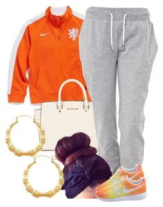 """""""4/16/14"""" by clickk-mee ❤ liked on Polyvore featuring NIKE, MICHAEL Michael Kors and White Label"""