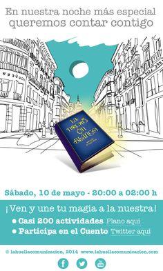 El Gran Libro de los Cuentos de la Noche en Blanco. Actividad organizada por La Huella.