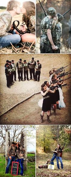 Wedding Pics awesome camo wedding photo ideas for country wedding couples who love to hunt Cute Wedding Ideas, Wedding Themes, Wedding Couples, Wedding Pictures, Perfect Wedding, Dream Wedding, Wedding Day, Wedding Inspiration, Themed Weddings