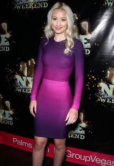 Iggy Azalea style inspiration. Such a cool dress!