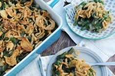 My Vegan Green Bean Casserole has all of the classic flavors you remember from your Grandma's Thanksgiving table.