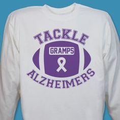Alzheimer's Awareness Shirts and Walk Gear
