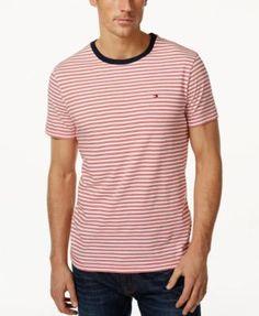 TOMMY HILFIGER Tommy Hilfiger Men's Big & Tall Marvin Short-Sleeve T-Shirt. #tommyhilfiger #cloth #shirts