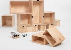 ulrikha: stacked shelf system