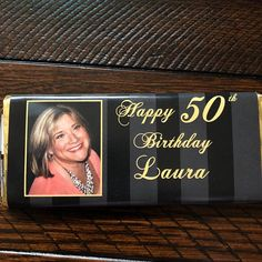 birthday favors birthday party black and gold 30th Birthday Cake For Women, 40th Birthday Favors, Happy Birthday Son, Birthday Candy, Wife Birthday, Birthday Gifts For Girls, Birthday Ideas, Grandpa Birthday, Birthday Images