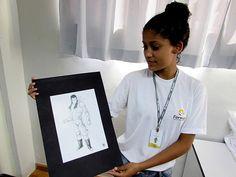 """O Instituto Formar, de Piracicaba, vem promovendo as artes plásticas, e a Mostra """"Muito Além do Grafite"""" da aprendiz Kimberly Silva Souza é realizada."""