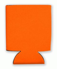 This is a sample of a ORANGE collapsible Kan Kooler. It can be custom imprinted with your message by Crown Advertising.  Order at CrownAdv.com. Key Fobs, Drink Sleeves, Advertising, Crown, Orange, Mugs, Corona, Keychains, Tumblers