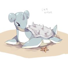Staryu and Lapras