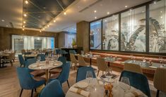 10 Fleet Street Restaurant & Bar, Temple Bar's newest seafood centric restaurant is an ideal spot for lunches, dinners and infused afternoon tea experiences. Donut Tower, Restaurant Bar, Dublin, Dining Table, Chair, Interior, Fleet Street, Furniture, Finger Food