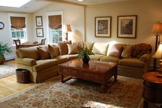 Living Room Design Sectional Family