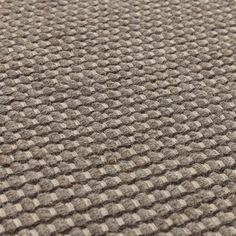 Kolong Rug, grey brown & off-white | URBANARA Grey Rugs, Rug Making, Brown And Grey, Wool Rug, Off White, Scandinavian, Hand Weaving, How To Make, Design