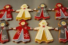 Snow girls by Farina Farina