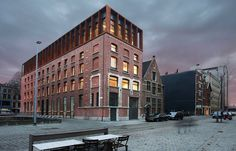 Kendall - Antwerp Renovation of a warehouse to offices SD Worx/ Stramien cvba…