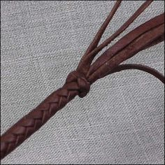 How to make the Terminal Knot : Leather Braiding by John