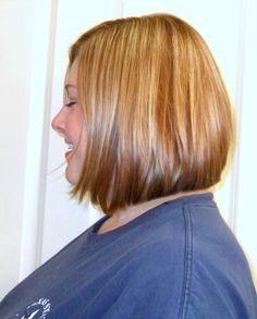 Side view of layered Bob