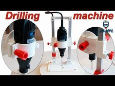 Makers and those of you with access to a printer printer might be interested in a new printed pedestal drill which uses a dram or to provide 3d Printing Diy, 3d Printing Service, Pedestal Drill, Drilling Machine, 3d Projects, Dremel, 3d Printer, 3 D, Coffee Maker