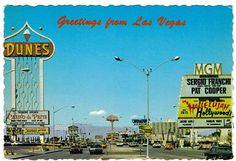Vegas 1976 postcard!