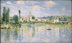 Claude Monet (French, 1840–1926). Vétheuil in Summer, 1880. The Metropolitan Museum of Art, New York. Bequest of William Church Osborn, 1951 (51.30.3)