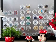 Sew Many Ways...: Tool Time Tuesday...Magnetic Frame- Picture Perfect Organization.. im so doing this!