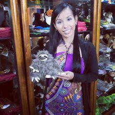 Que opinan de la nueva mascota de VIP Panama tours? @VIPPanamaTours  http://ift.tt/1CFxaEy #panama #travel #sloth